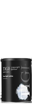TIGI copyright©olour True Light White
